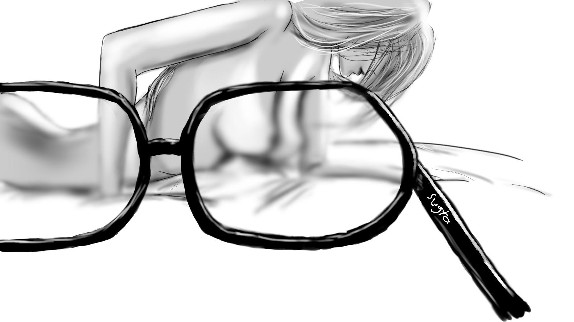 Mamie Binocles flou lunettes